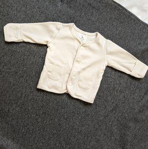 100% Organic cotton coat 0-3 m